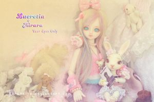 Lucre and Kirara - Your Eyes Only by darknaito