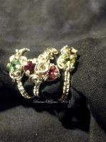 Tourmaline Rings by DreamsOfGems