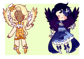Day and Night Adopts [CLOSED] by Pyonkotcchi