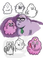 Adventure Time_LSP sketches by pandatails