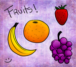 frutas by AndiiGrr