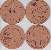 Nintendo Coasters by TheTurnerPack