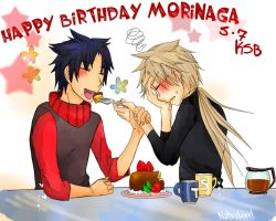 Happy Birthday Morinaga by NatsyLove
