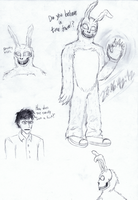 Donnie Darko Doodles by Cephei97