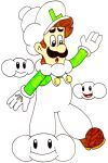 Mario's most fashionable collab- Cloud Luigi by Iwatchcartoons715