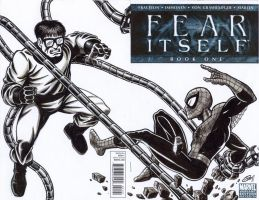 FEAR ITSELF BLANK VARIANT by Ragnaroker