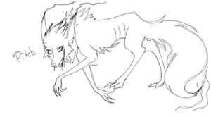 RotG - Pitch Wolf/Creature thing by P1uto