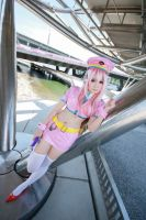 Super Sonico - Space Police Sonico by Xeno-Photography