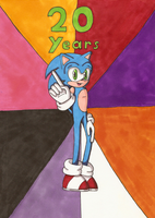20 Years of Sonic by Lavender-Star