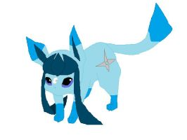 Shard the Glaceon by CometStre