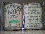 Nightmare Before Christmas Sally Spell Book by kam3153