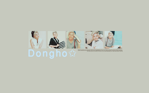 Dongho - wallpaper by BeeBKawaii