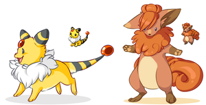 PokeFusions by loverofscythe