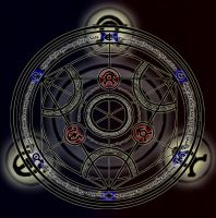 Human Transmutation Circle by Dragnerz