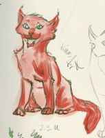 red cat 1 by KIARAsART