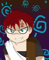 Gaara by xPenguinxPuffx