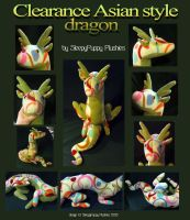 Eastern Style Dragon CLEARANCE by SPPlushies