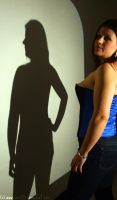 The shadow on the wall... by amzb87