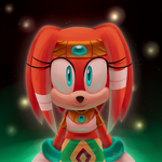 Tikal the Echidna by Zoiby