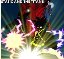 STATIC SHOCK AND THE TITANS by robert-man