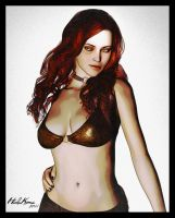 Something like Red Sonja ... by HidaKuma
