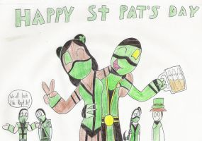 Happy St. Patrick's Day-MK by Kaydragon