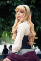 Briar Rose : Sleeping Beauty Cosplay by Thecrystalshoe