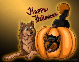 Happy Halloween 2008 by Zerwolf