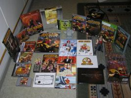 Kiljunator's Duke Nukem collection, August 2012 by Kiljunator