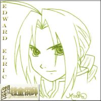 .::F.M.A-Edward Elric::. by ChiquitaElena