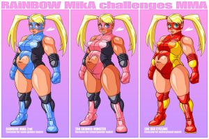 MiKA challenges MMA by DoomShaman