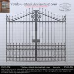 Gate with Arrows by YBsilon-Stock