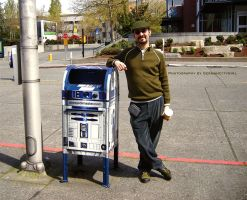 R2-D2 and GC. by GermanCityGirl