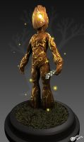 Tree Character by ajeffects