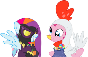 Request - Trick or Treat Buddies by REPLAYMASTEROFTIME