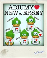 Adiumy Love New Jersey by Regivic