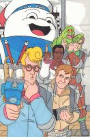The Real Ghostbusters by SB-Artworks