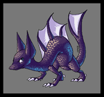 Pixel Dragon-Lizard by Sultastic