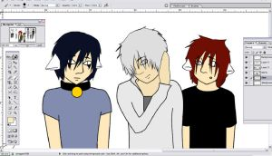 Our Family WIP by Sapphira-DoG