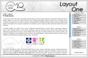 Layouts - Layout 001 by Blade-Genexis