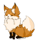 Fox (extra fluffified) by Cake4444