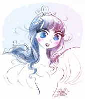 Une Blanche-Neige by princekido
