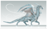 Ice Dragon + scales tutorial by LadyAway