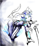 Frostblade Irelia WIP by Platinum-Disco