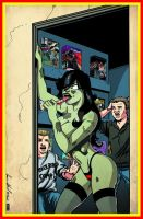 Back Room Comics Zombie Tramp #13 V by hdub7
