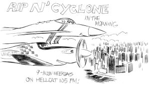 Rip N' Cyclone Billboard by amberchrome