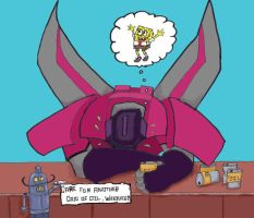 Poor Starscream... by Fire-Redhead