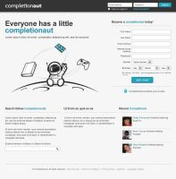 Completionaut Web Design by taki3