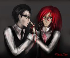 Will and Grell3 by VladaTee