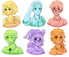 Prizes: Bust sketches by Amphany